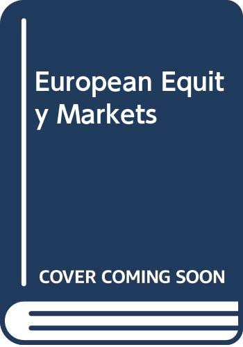 9780071496032: European Equity Markets