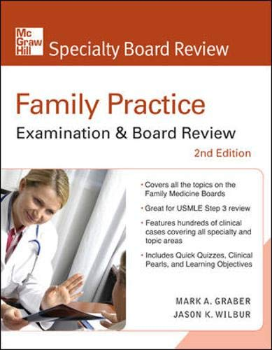 9780071496087: Family Practice Examination & Board Review, Second Edition (McGraw-Hill Specialty Board Review)
