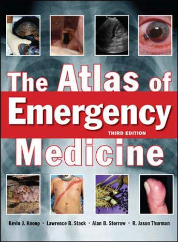 9780071496186: The Atlas of Emergency Medicine, Third Edition