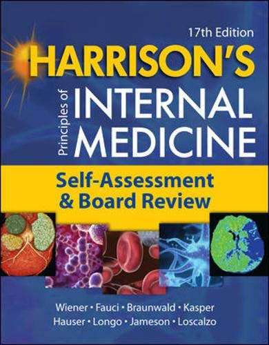 9780071496193: Harrison's Principles of Internal Medicine, Self-Assessment and Board Review