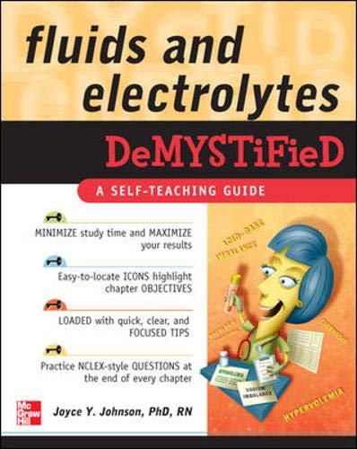 9780071496247: Fluids and Electrolytes Demystified