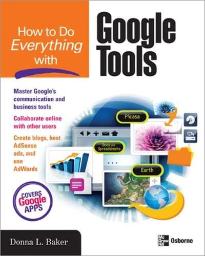 9780071496261: How to Do Everything with Google Tools