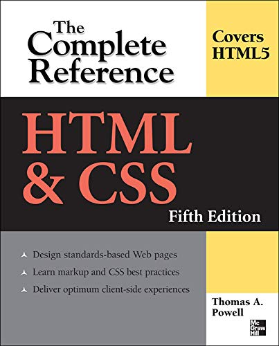 9780071496292: HTML & CSS: The Complete Reference, Fifth Edition (Complete Reference Series)