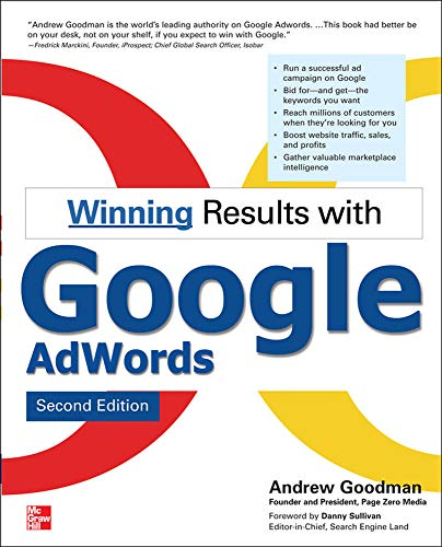 9780071496568: Winning Results with Google AdWords, Second Edition