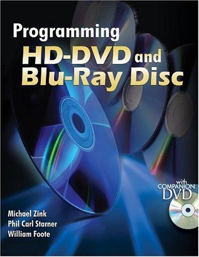 9780071496698: Programming HD-DVD and Blu-Ray Disc