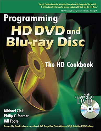 9780071496704: Programming HD DVD and Blu-ray Disc