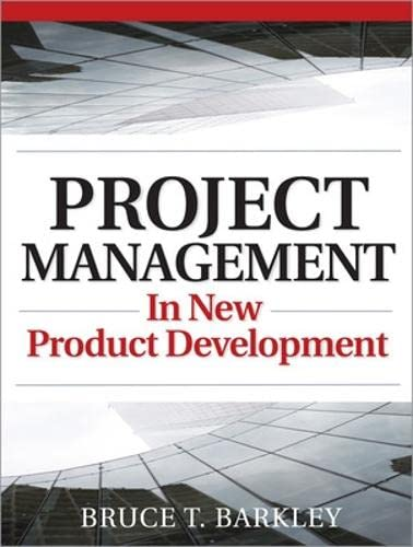 9780071496728: Project Management in New Product Development