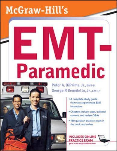 9780071496803: McGraw-Hill's EMT-Paramedic
