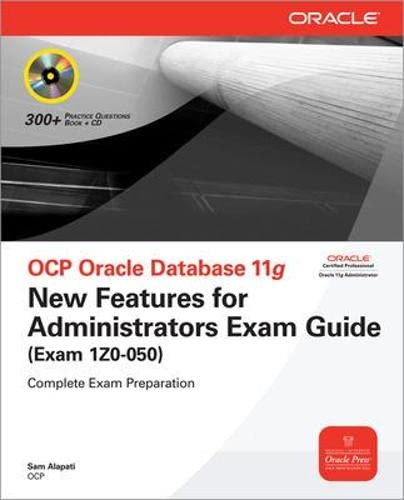 9780071496827: OCP Oracle Database 11g New Features for Administrators Exam Guide (Exam 1Z0-050) (Oracle Press)