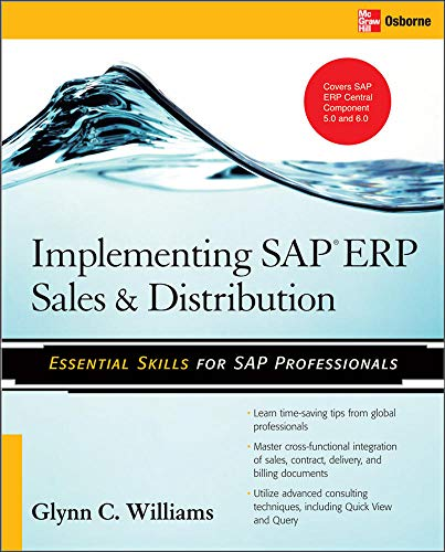 9780071497053: Implementing SAP ERP Sales & Distribution (Database & ERP - OMG)