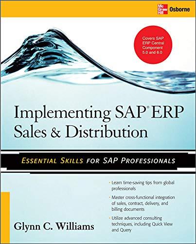 9780071497053: Implementing SAP ERP Sales & Distribution (Database & ERP - OMG)