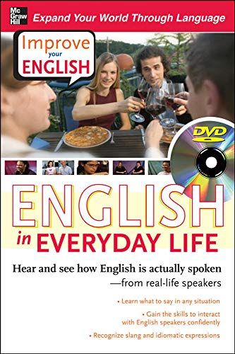 9780071497176: Improve Your English: English in Everyday Life (DVD w/ Book): Hear and see how English is actually spoken--from real-life speakers