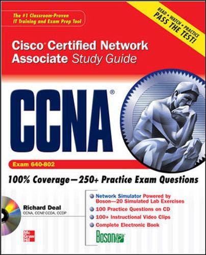 9780071497282: CCNA Cisco Certified Network Associate Study Guide (Exam 640-802) (Certification Press)