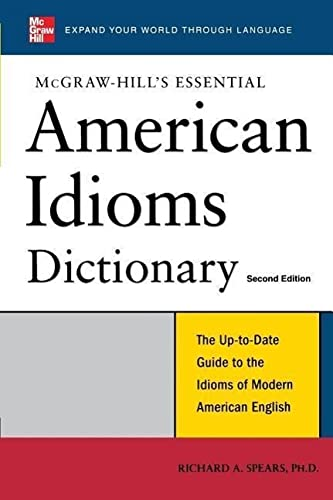 9780071497848: McGraw-Hill's Essential American Idioms (Essential Series)