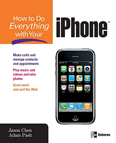 9780071497909: How to Do Everything with Your iPhone