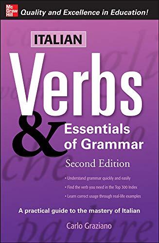 9780071498012: Italian Verbs & Essentials of Grammar, 2E. (Verbs and Essentials of Grammar Series)