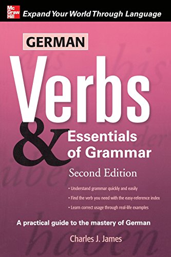 9780071498036: German Verbs & Essential of Grammar, Second Edition