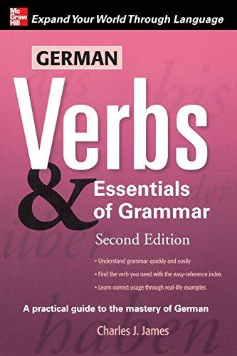 9780071498036: German Verbs & Essential of Grammar, Second Edition: v. 2 - Pt. E (Verbs and Essentials of Grammar Series)