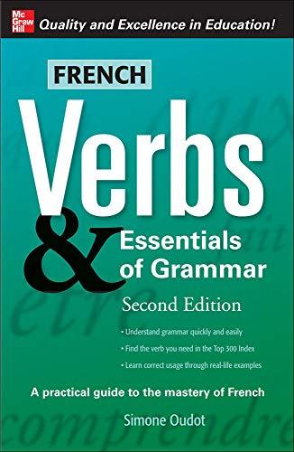 9780071498043: French Verbs & Essentials of Grammar, 2E (Verbs and Essentials of Grammar Series)