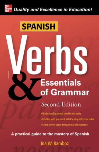 9780071498067: Spanish Verbs & Essentials of Grammar, 2E (Verbs and Essentials of Grammar Series)