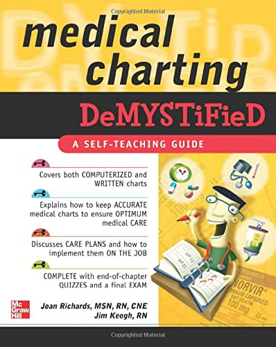 9780071498487: Medical Charting Demystified