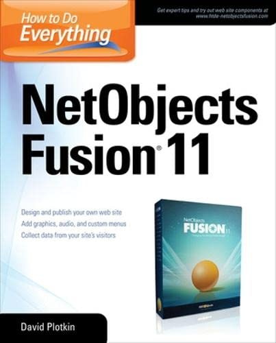 9780071498494: How to Do Everything NetObjects Fusion 11