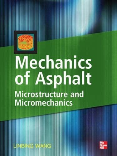 9780071498548: Mechanics of Asphalt: Microstructure and Micromechanics