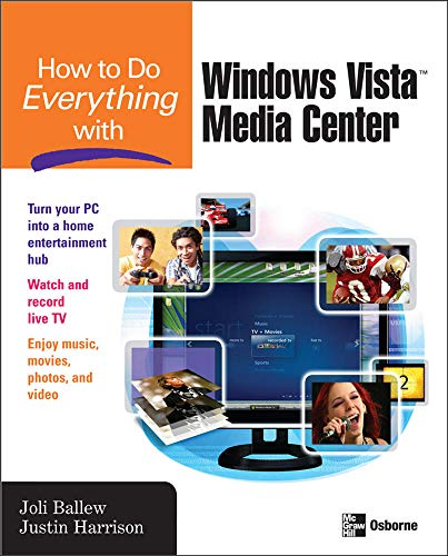 9780071498647: How to Do Everything with Windows Vista™ Media Center