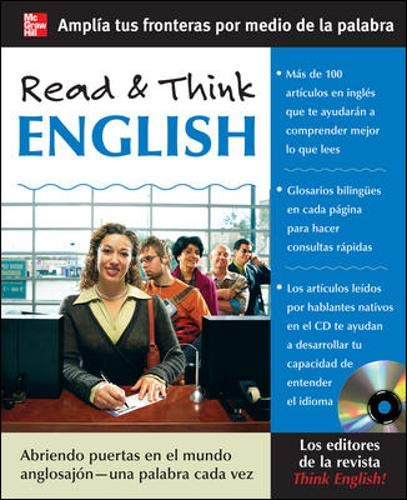 Read & Think English (Book + Audio CD) Format: Softcover with Audio CD