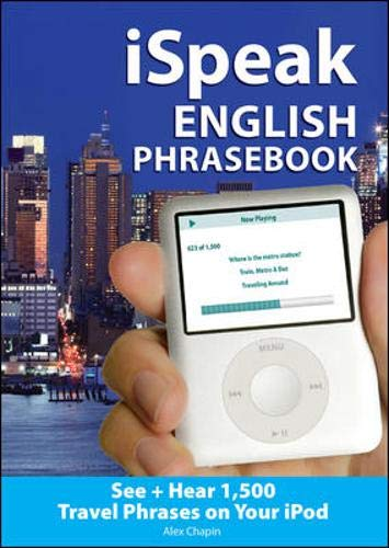9780071499217: iSpeak English Phrasebook (MP3 CD+ Guide): The Ultimate Audio + Visual Phrasebook for Your iPod