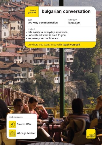 9780071499354: Teach Yourself Bulgarian Conversation (3CDs + Guide)
