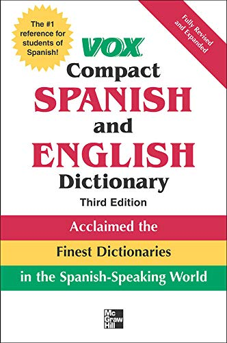 9780071499507: Vox Compact Spanish and English Dictionary, 3rd Edition