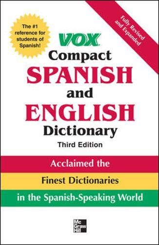 9780071499514: Vox Compact Spanish and English Dictionary, 3E (Vinyl) (VOX Dictionary Series)