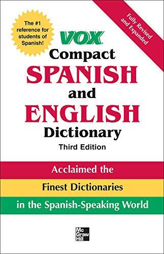 9780071499521: Vox Compact Spanish & English Dictionary, 3E (HC) (VOX Dictionary Series)