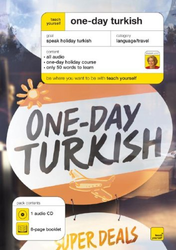 9780071499552: Teach Yourself One-Day Turkish (1CD + Guide) (TY: Language Guides)