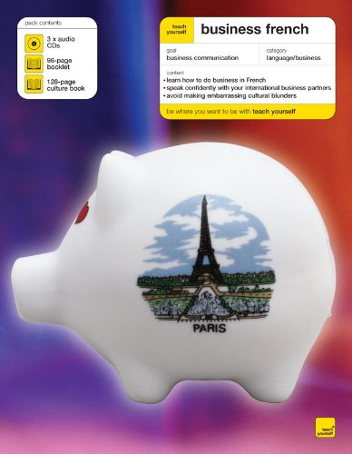 Teach Yourself Business French (3CDs+ Guide) (Teach Yourself Language): Carroll, Sarah