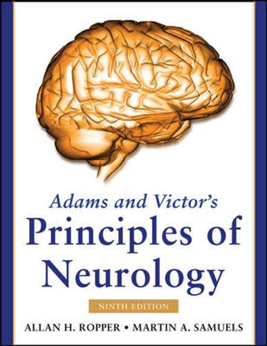 9780071499927: Adams and Victor's Principles of Neurology, Ninth Edition (Adams & Victor's Principles of Neurology)