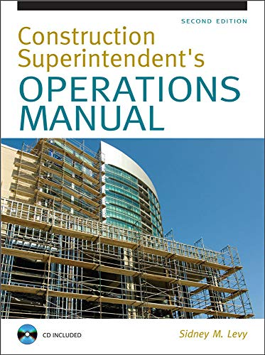 9780071502412: Construction Superintendent Operations Manual