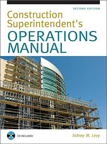 9780071502412: Construction Superintendent Operations Manual (P/L Custom Scoring Survey)