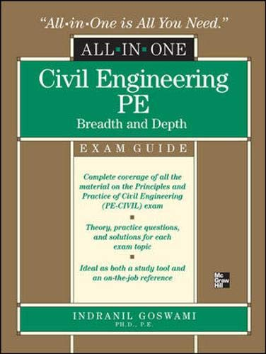 9780071502658: Civil Engineering All-In-One PE Exam Guide: Breadth and Depth (All-In-One (McGraw Hill))
