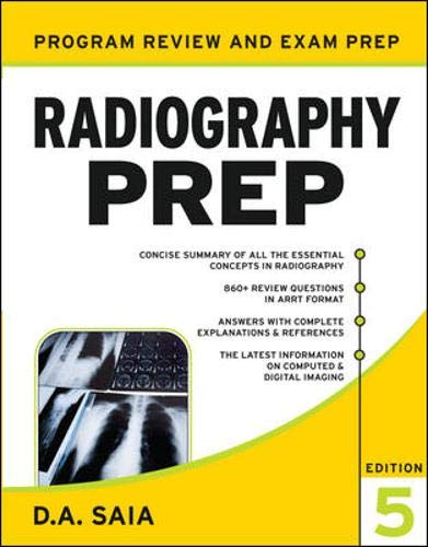 9780071502788: Radiography PREP, Program Review and Examination Preparation, Fifth Edition