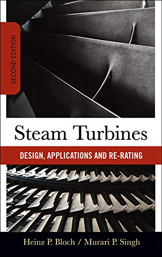 9780071508216: Steam Turbines: Design, Application, and Re-Rating: Design, Applications, and Re-rating