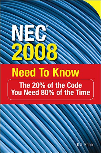 9780071508452: NEC® 2008 Need to Know
