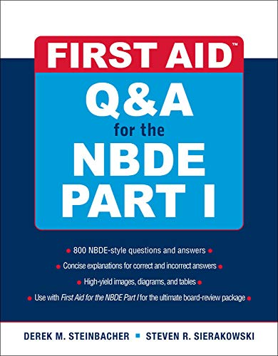 9780071508667: First Aid Q&A for the NBDE Part I (First Aid Series) (Pt. 1)