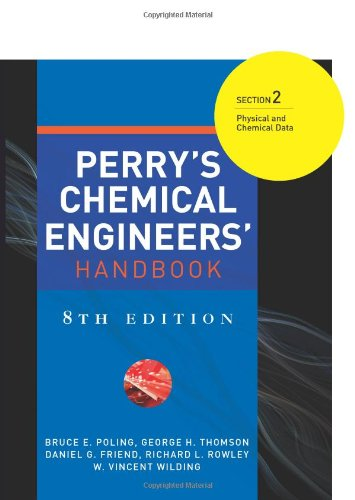 9780071511254: Perry's Chemical Engineers' Handbook 8/E Section 2:Physical and Chemical Data