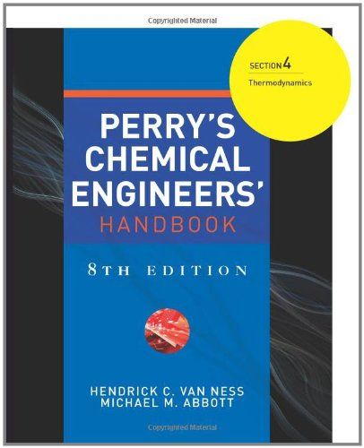 9780071511278: Perry's Chemical Engineers' Handbook 8/E Section 4:Thermodynamics