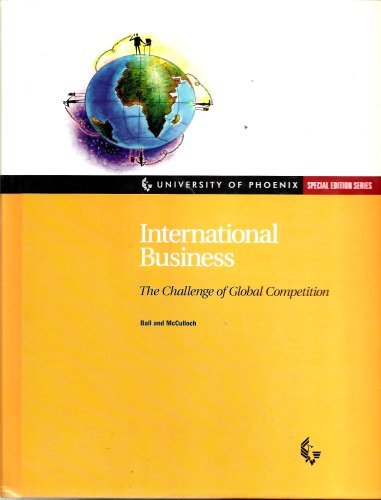 9780071540063: International Business: The Challenge of Global Competition