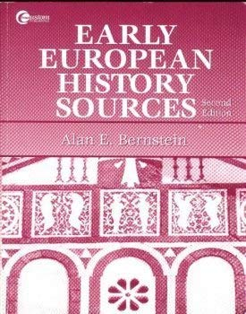 9780071540537: Early European History Sources