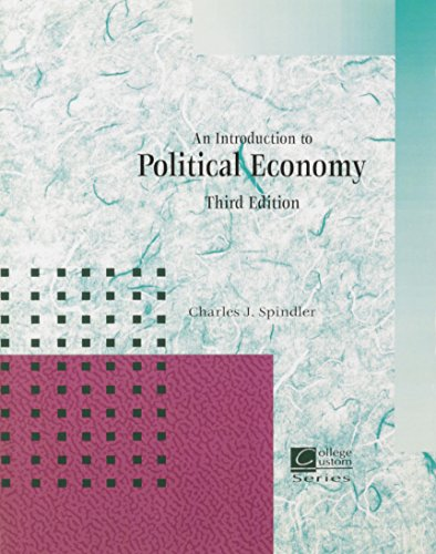 9780071541275: An Introduction to Political Economy (Custom Edition)