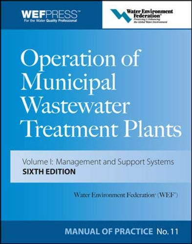 9780071543675: Operation of Municipal Wastewater Treatment Plants (3-Volume Set)